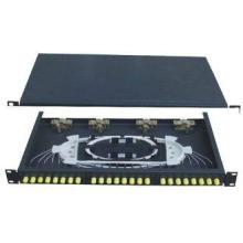 ST24 Rack-Mounted Fiber Optic Terminal Box Working as Distr