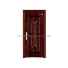 Luxury Serie High Quality and Good Finish Steel Door KKD-508