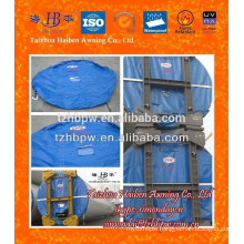 PVC Tarpaulins for Wind Turbine Tower Transport