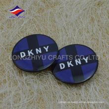 Lapel pin fabricantes China suministro de impresión logotipo de metal solapa pin