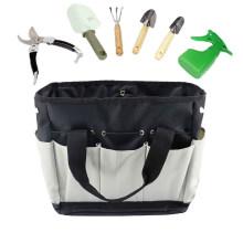 Army Green Multi Pocket Oxford Large Capacity Gardening Hand-Held Kit Tool Bag
