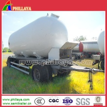 15-30cbm 2-3axle Full Drawbar Water Oil Fuel Tank Trailer
