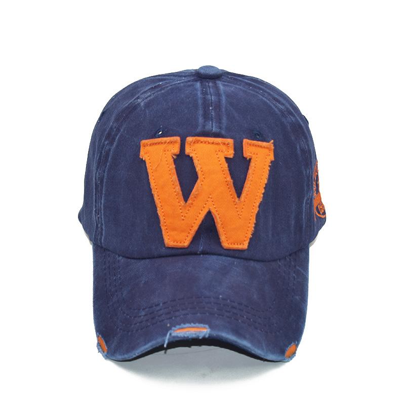 Men's and women's caps alphabet caps baseball caps (7)