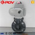 Plastikwafer motorisierte PVC-Drosselklappe