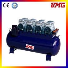 Compresseur d'air dentaire à pistons muets sans huile 3360W 120L