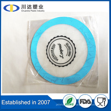 Tissu à carreaux en coton revêtu de silicone CD050 fabriqué en Chine