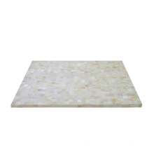 MOP shell white placemat