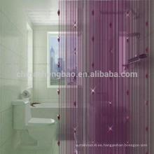 China cadena decorativa romántica rebordeado puerta cortina divisor de la habitación