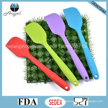 Big Size Silicone Kitchenware Spatula Wholesale Silicone Baking Tool Ss13 (L)