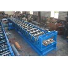 PLC-Steuerstahlspulen-Metallboden-Decking-Rollenformmaschine