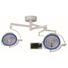 runde, schattenlose Operationslampe mit Doppelkopf