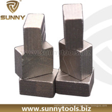 Segments diamantés spécialisés en coupe de pierre pour granit