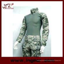 Combate de Airsoft militar camuflaje uniforme traje de rana