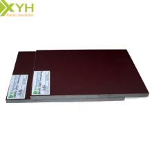 Feuille de stratifié de papier phénolique brun