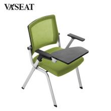 Cadeiras escolares fortes com tablet de alumínio
