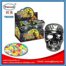 All Saint′s Day Halloween Party Skull Mask Toys with Candy
