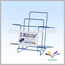POP design hanging magazine lecture stand furniture for shopping