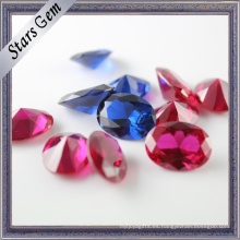 Variou Shapes and Colours Synthetic Corundum Gemstone