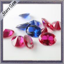 Различн форм и цветов синтетический Корунд драгоценный камень