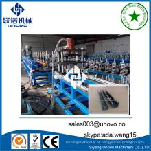 Metal C unistrut channel roll formando máquina fabricada na China