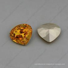 Coração fantasia diamantes pedras grânulos