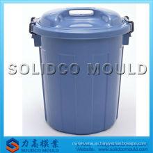 molde de cubo de basura de plástico