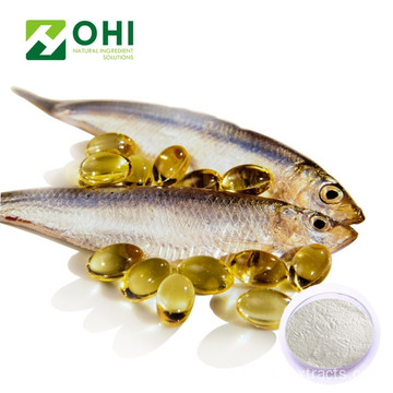 White DHA EPA Fish Oil Powder