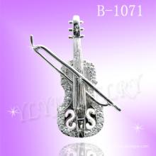 Pingente de prata 925 para violino (B-1071)