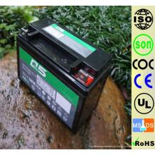 YTX6.5 (12N6.5 YB6.5L) 12V6.5AH Alto Desempenho inicial AGM Bateria de motocicleta com ácido de chumbo sem manutenção selada