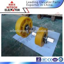 Guindaste deflector de elevador / polia de nylon polete