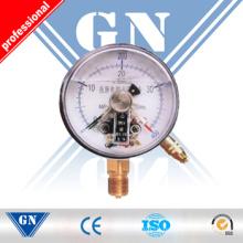 Cx-Pg-Sp Elektrischer Kontakt Silikongefüllter Manometer (CX-PG-SP)