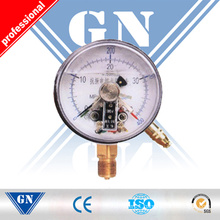 Cx-Pg-Sp Electric Contact Silicone Filled Pressure Gauge (CX-PG-SP)