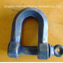 D Shackle Unstandard Type Blue Painted / Black Painted / Galvanized/ Hot Galvanized