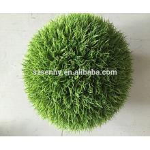2017 Artificial anti uv planta de hierba al aire libre hierba cabeza