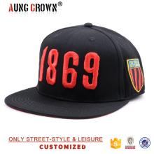 Sombrero unisex de la danza de la calle del hip hop del snapback