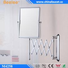 Espejo mágico decorativo 3X con marco de latón de doble cara