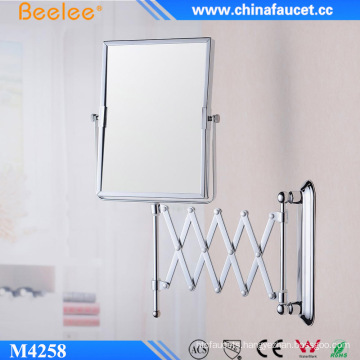 Double Side Brass Framed Decorative 3X Magic Mirror