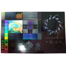 Tampan Bukti 3D Anti-palsu Hologram Label
