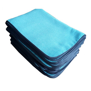 Microfibra Fácil Limpo Waffle Weave Wiping Cloth
