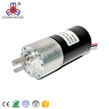ETONM low voltage low rpm high torque dc gear motor brushless