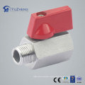 "1/4""-3/4"" Mf Mini Ball Valve with Male Female"