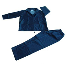 Two Piece Waterproof Adult Rainsuit with Good Price