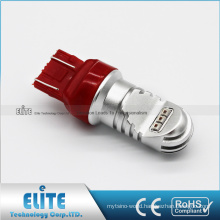 New Pure White 7443 3157 750LM 30W 12V-24V LED Signal Lamp F1 Brake Stop Light Bulbs