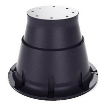 High performance marine cone fender system with accessories