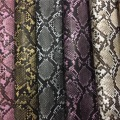 Snake Transfer Printing Film Leather for Jewelry Box