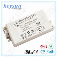 6W 12V 250mA AC-DC Constant Voltage LED Driver Power Supply with CE