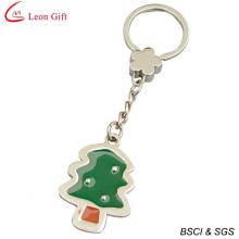 Wholesale Custom Logo Christmas Tree Keychain (LM1320)
