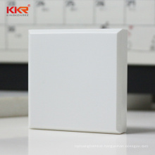 Glacier white modified & pure acrylic solid surface sheet for countertops