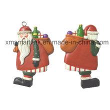 Фигурка Санта-висячие украшения