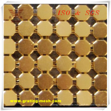 High Quality Metal Curatin Mesh for Decorative (ISO)